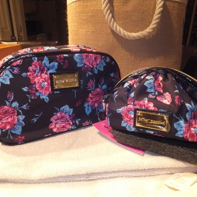 Betsey Johnson Cosmetic bags · Butterflys Handbags and more ...