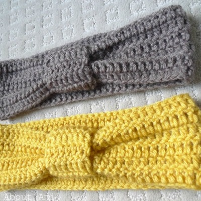 Knotted earwarmer