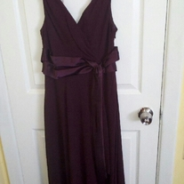 Jones Wear Purple Dress Sz 10P