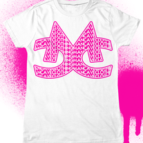 Girls Fitted MCC Repeat Tee