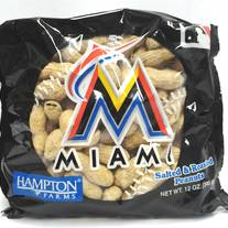 Miami Marlins Game Day Ballpark Peanuts 12 oz by Hampton Farms