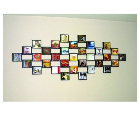 Trolley for Cd mural wall display