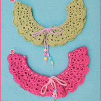 Crochet Mallow Collars