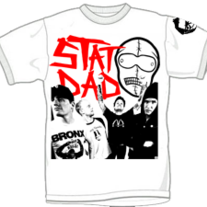 "STAT DAD ""Band Photo"" T-Shirt"