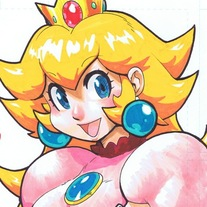 Original Marker Princess Peach