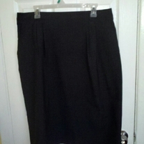 Briggs Grey Pencil Skirt Sz 18