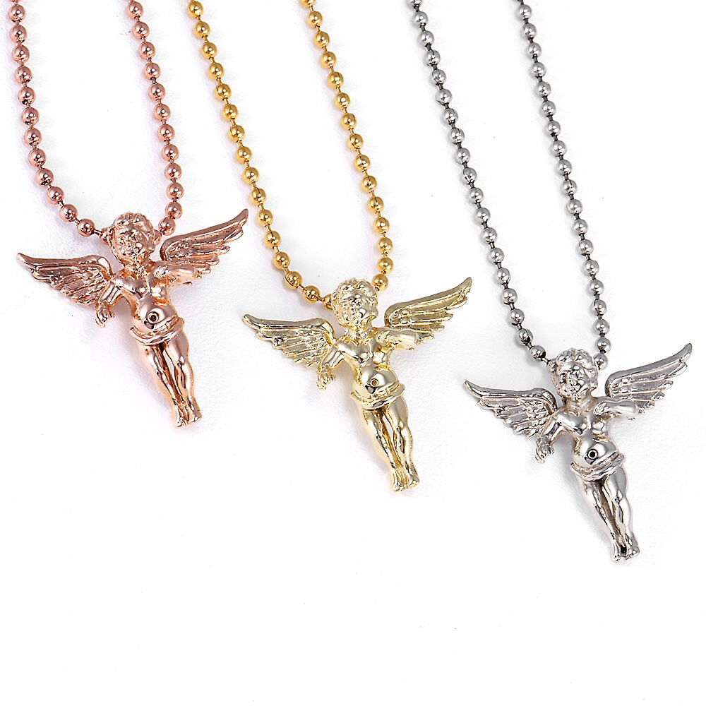 14k gold mini angel pendants dfine lifestyle online store 14k gold mini angel pendants aloadofball Gallery