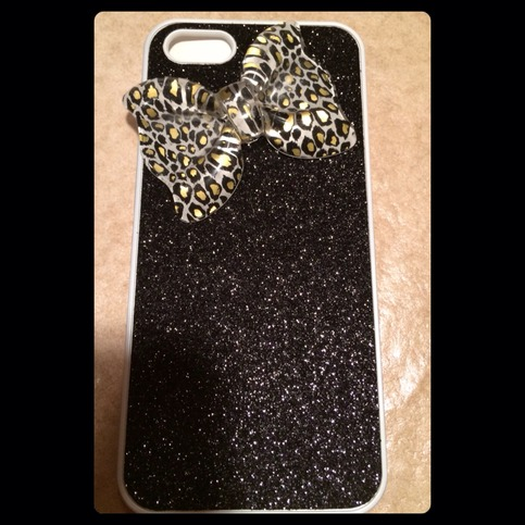 Custom Cheetah Bow Glitter Case-TDE · Princess Armor · Online Store Powered by Storenvy