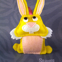 Felt Animal Easter Ornament - Clara the Rabbit