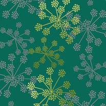 Parsley Cluster Floral Decor Wall Stencil Home Decor