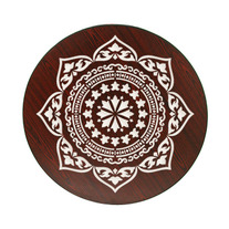 Inlay Medallion Indian inspired Pattern Wall Stencil Home Decor or DIY Pillow and Shirt