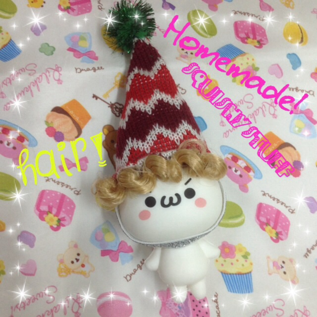 Emotion Squishy Tag : ~SquishyStuff~ *HOMEMADE COSTUME*ONLY 1* Emotion Squishy in Hat with hair Online Store ...