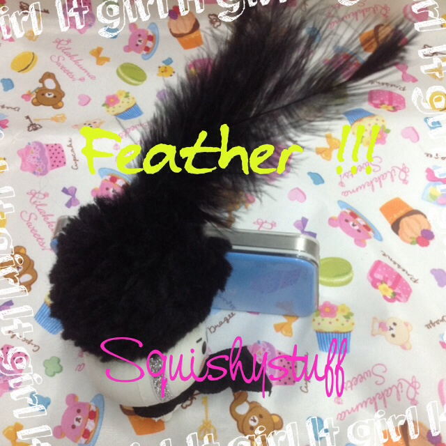Emotion Squishy Tag : ~SquishyStuff~ *HOMEMADE COSTUME*ONLY 1* Emotion Squishy with Feather Hat Online Store ...