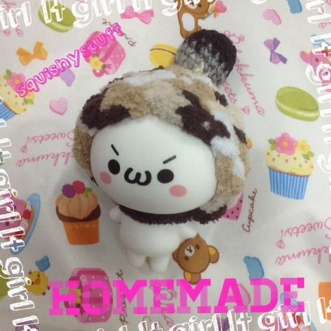 ~SquishyStuff~ *HOMEMADE COSTUME*ONLY 1* Emotion Squishy in Wool Hat with Ball Online Store ...