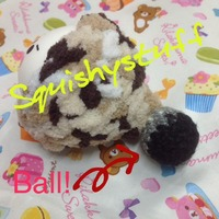Emotion Squishy Tag : ~SquishyStuff~ *HOMEMADE COSTUME*ONLY 1* Emotion Squishy in Wool Hat with Ball Online Store ...