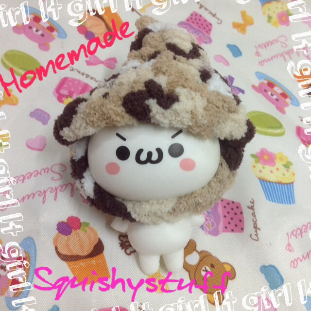 Emotion Squishy Tag : *HOMEMADE COSTUME*ONLY 1* Emotion Squishy in Plain Wool Hat on Storenvy