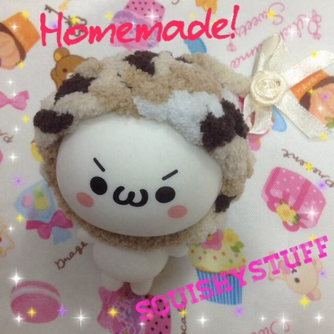 ~SquishyStuff~ *HOMEMADE COSTUME*ONLY 1* Emotion Squishy in Wool hat with bow Online Store ...