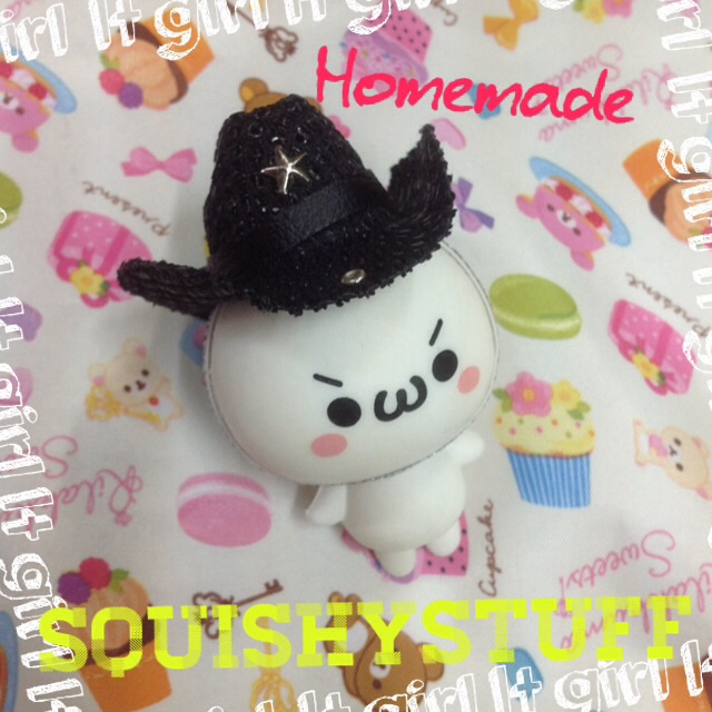 Emotion Squishy Tag : ~SquishyStuff~ *HOMEMADE COSTUME*ONLY 1* Emotion Squishy in Cowboy Hat Online Store Powered ...
