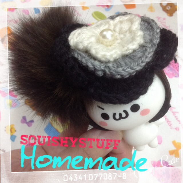 ~SquishyStuff~ *HOMEMADE COSTUME*ONLY 1* Emotion Squishy in Big Flower Hat Online Store ...