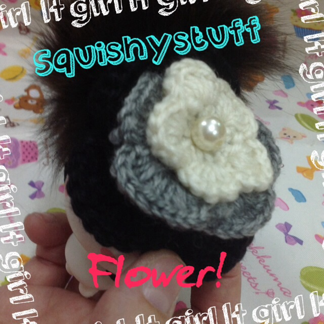 ~SquishyStuff~ *HOMEMADE COSTUME*ONLY 1* Emotion Squishy in Big Flower Hat Online Store ...