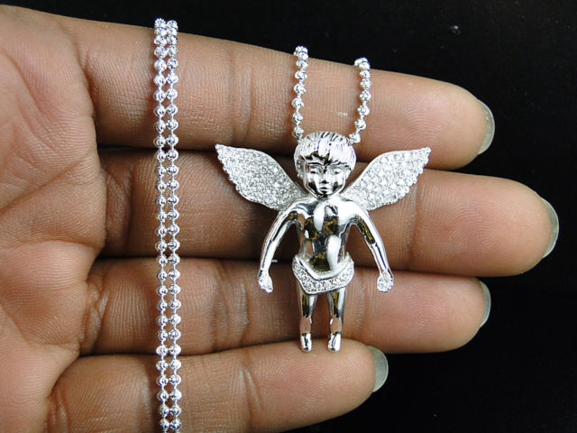 angel diamond pendant from D'Fine Lifestyle
