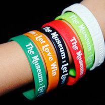 """Let Love Win"" Wristband"