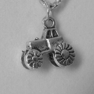Tractor Necklace