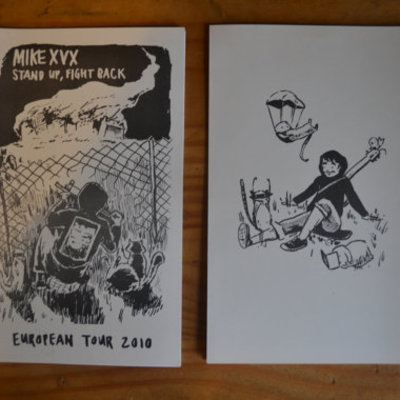 Stand up, fight back! - european tour journal/zine