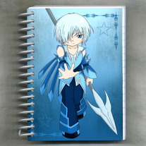 Notebook S - Elemental Chibi Bishonen: Ice