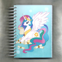 Notebook S - My Little Pony FiM: Princess Celestia (Fanart)
