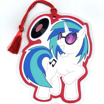 Bookmark - My Little Pony FiM: DJ Pon3 (Fanart)