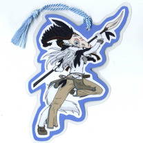Bookmark - Raven Wolf - Shiya