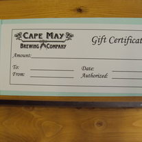 Growler Fill Gift Certificate