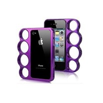 Purple Knucklez Case (iPhone 4 4s)