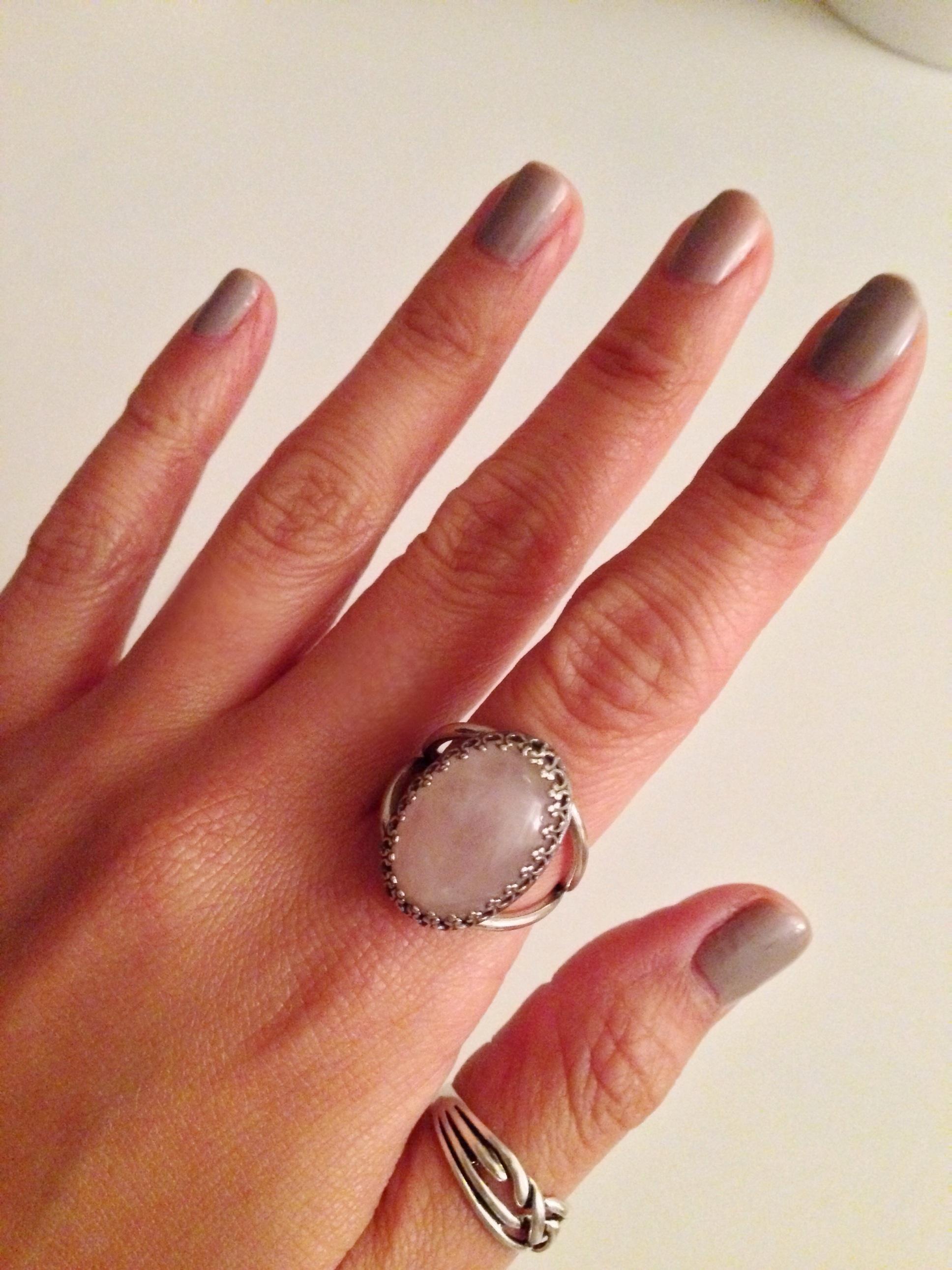 sølv finger ring dame