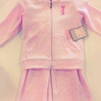 Juicy Couture Pink Cotton Candy Track Suit