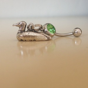 Duck Decoy Belly Ring