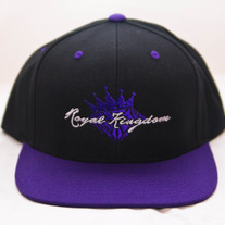 Diamond King Snapback (Purple/Grey)