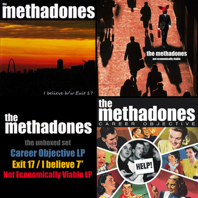 The methadones ucr unboxed set 2xlp+7""