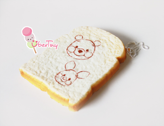 Squishy Jumbo Toast : Jumbo Plus Piglet Toast Squishy (scented) ? Uber Tiny ? Online Store Powered by Storenvy