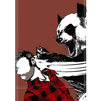 Panda bitchslap iphone 4 & 4s case