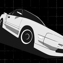 Toyota MR2 AW11 Shirt