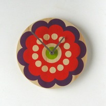 Objectify Bubble Flower Wall Clock