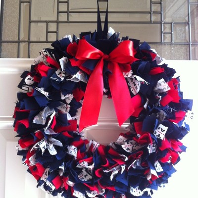 Team wreath without monogram letter
