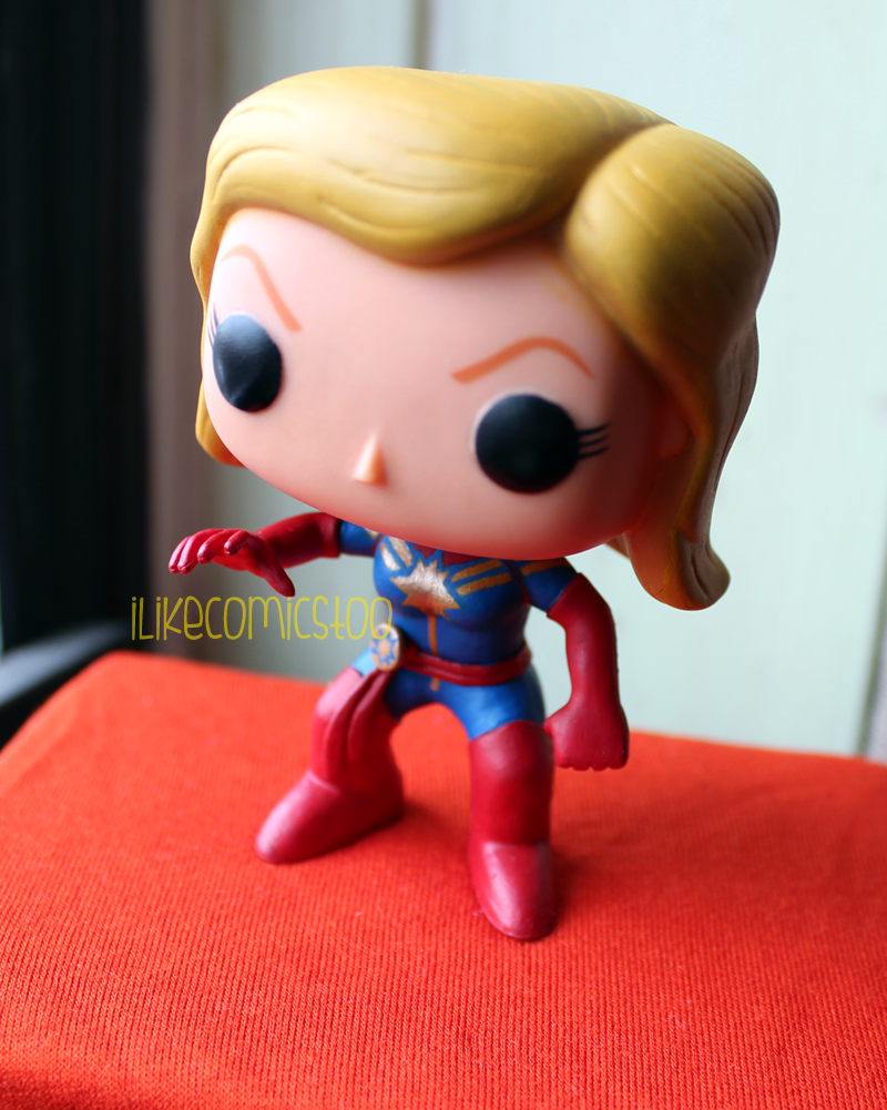 Custom Captain Marvel Carol Danvers Funko Pop Bobble