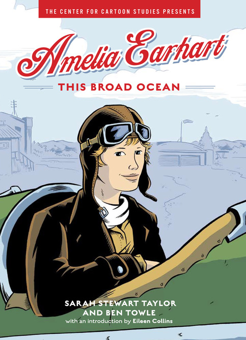 Amelia Earhart: This Broad Ocean (w/ Sketch)