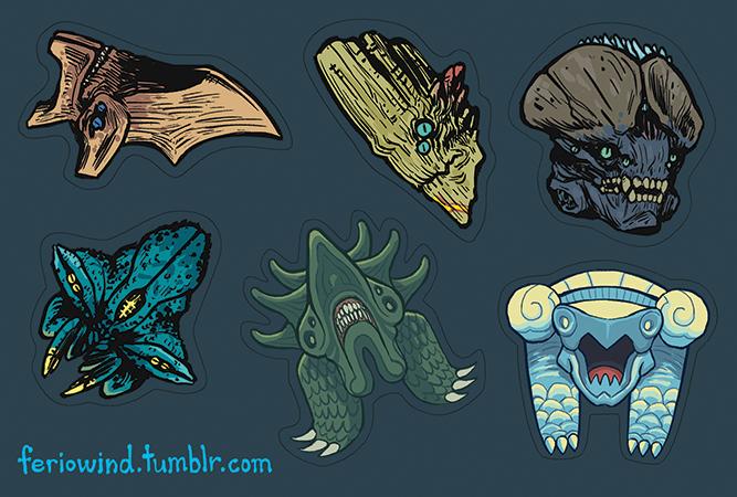 Kaiju wars: gigantis by blabyloo229 on deviantart