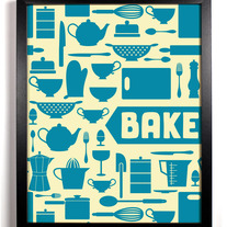 Image of BAKE Art Print, 8 x 10