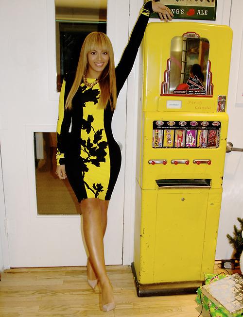Black and yellow long sleeve dress – Dress online uk