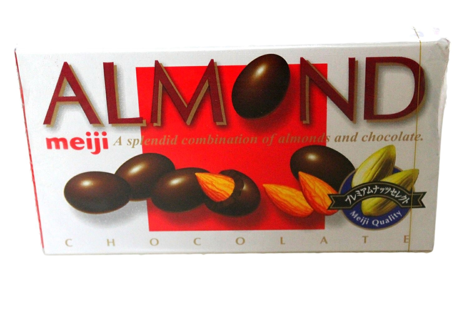 Meiji Almond Chocolate Box- Japan Candy · Kawaii Surprises Japan ...